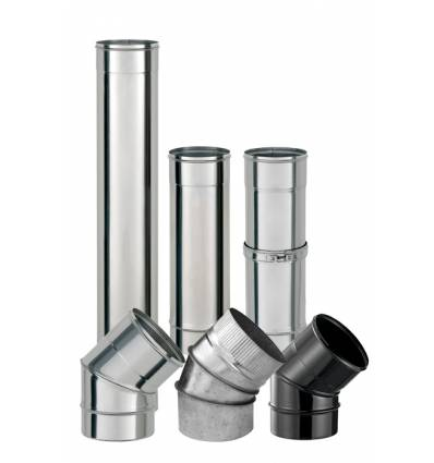 TUBO INOX SIMPLE PARED